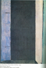On richard diebenkorn by clairan ferrono ragged cloth for Matisse fenetre