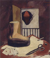 Naturaleza muerta con pie, 1928