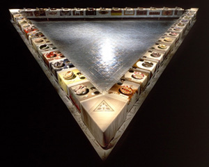 The Dinner Party, Judy Chicago, 1979