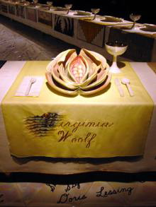 Judy Chicago - Virginia Woolf