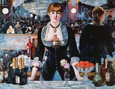 A Bar at the Folies-Bergere (1882), Edouard Manet