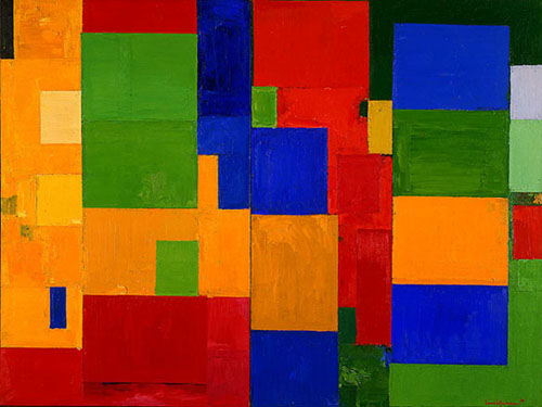 Famous Painting Primary Colors