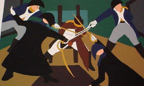 jacob Lawrence, Deception