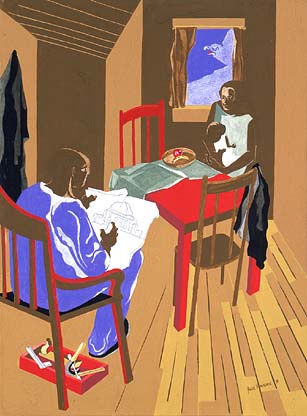 Jacob Lawrence, The Federalist Papers
