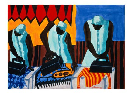 Jacob Lawrence, Ironing