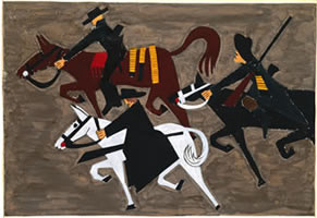 Jacob Lawrence, Life of John Brown