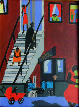 Jacob Lawrence, Tombstones
