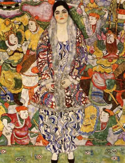 Klimt - (Portrait of) Friedericke Maria Beer-Monti