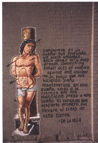 St Sebastian - James De La Vega