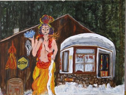 Nan\'s Shiva, Basin Montana