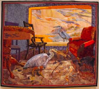 """Blue Herons"""" by Annie Helmericks-Louder"""