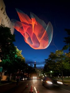 Janet Echelman: 1.26 Denver 2010 Sculpture Project at the Biennial of the Americas