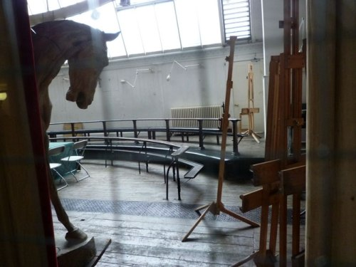 The life drawing studio in 2010