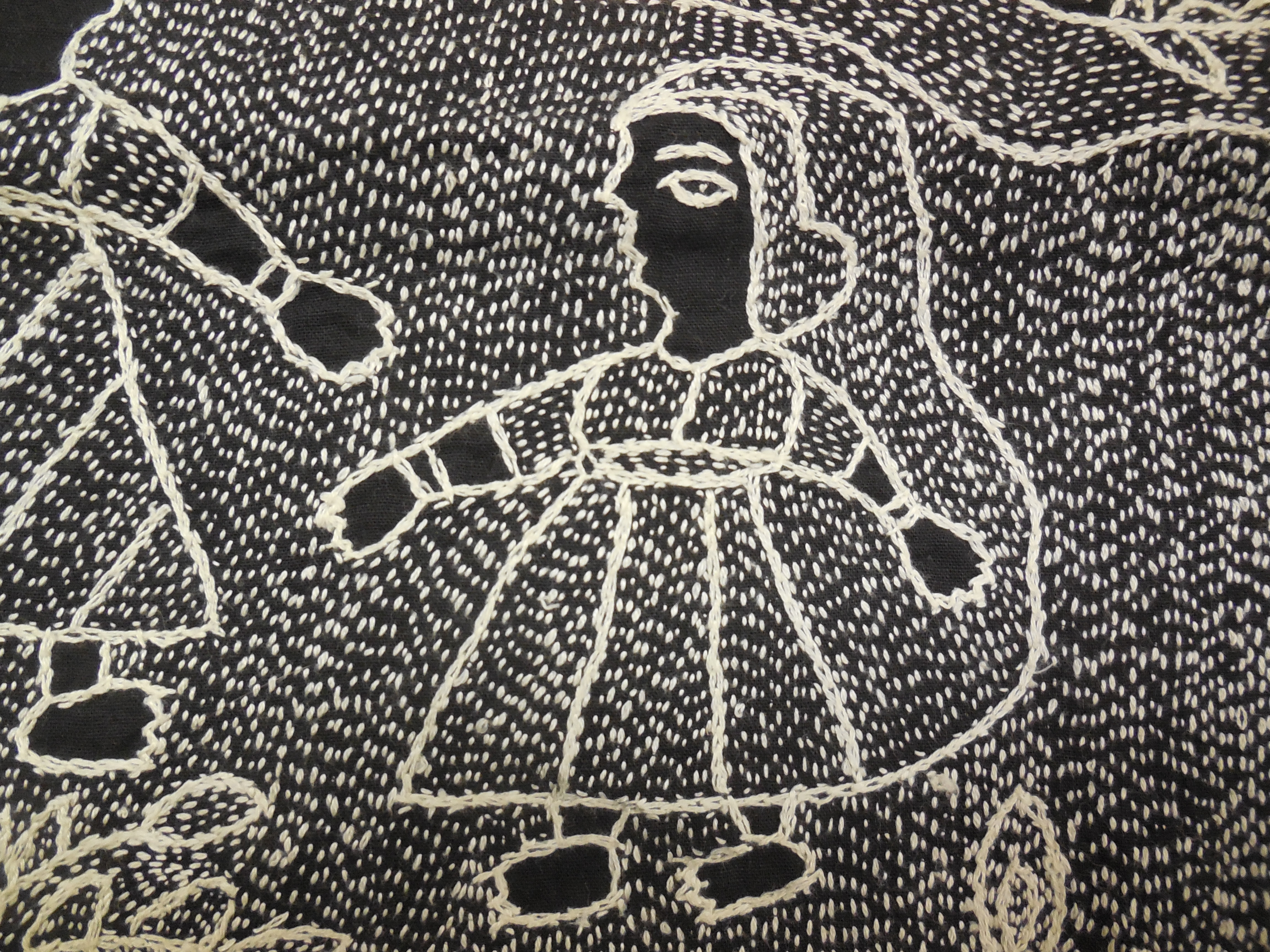 Kantha Stitching With Dorothy Caldwell By Kathleen Loomis Ragged