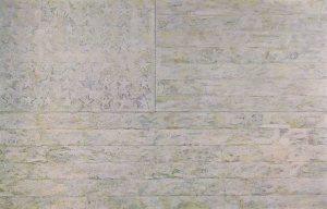 """White Flag  1955 79x120"""""""